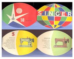 Singer (machines à Coudre) à L'expo 58 - Publicités