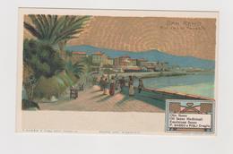 San Remo, Olio D'Oliva P. Sasso E Figli Di Oneglia, Pubblicitaria - F.p. -  Anni '1905/1908 - Pubblicitari