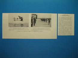 (1935) Commémoration Du Premier Vol En HYDRAVION Effectué En 1910 Par Le Marseillais Henri Fabre Sur L'étang De Berre - Vecchi Documenti