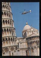 C1846 ELICOTTERO A 109 IN VOLO SU PISA - Helicopters