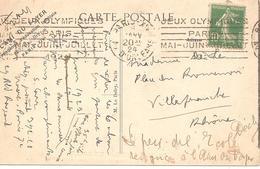 1924 Jeux Olympiques Paris :(Paris Xiv Avenue D'Orléans) - Summer 1924: Paris