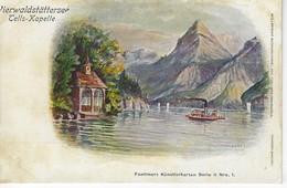 SUISSE - Switzerland Schweiz - Lithographie VIERWALDSTATTERSEE - Tells Kapelle - UR Uri