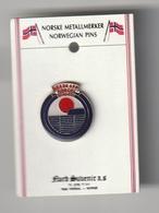 2 Pin's NORVEGIEN -- NORWEGIAN AIR -- COMPAGNIE AERIENNE  De NORVEGE - Transports
