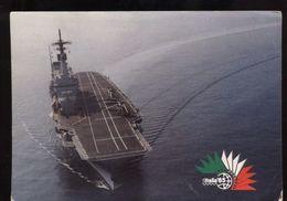 C1855 STATO MAGGIORE DELLA MARINA - ITALIA '85 - INCROCIATORE GIUSEPPE GARIBALDI - Warships