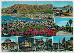 SALUTI  DA  PALERMO      (SCRITTA) - Palermo