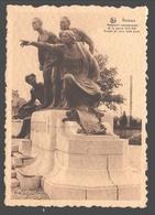 Verviers - Monument Commémoratif De La Guerre 1914-1918 - Groupe De Civils - Centre D'Excursions Pays De Herve, ... - Verviers