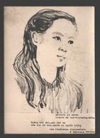 Verviers - Les étudiants Vietnamiens à Verviers - Artiste En Herbe - Crayon - Dos Blanc - Verviers