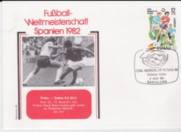 Spain Cover 1982 FIFA World Cup Football In Spain - Barcelona Poland-Italy 0:2 (G98-53) - 1982 – Espagne