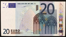 20 € ITALIA DUISENBERG  S J002G5  Cod.€.263 - EURO