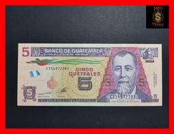 GUATEMALA 5 QUETZALES 14.5.2014 PAPER P. NEW UNC - Guatemala