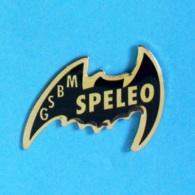 1 PIN'S //  ** G.S.B.M / GROUPE SPÉLÉO BAGNOLS \ MARCOULE ** - Pin's