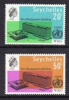 SEYCHELLES - 1966 WHO WORLD HEALTH ORGANISATION SET (2V) FINE MNH ** SG 228-229 - Seychelles (...-1976)
