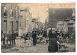 Leuven  Le Cataclysme à Louvain 1904 - La Rue De Malines.En Ville L.Lagaert,B - N.14 - Leuven