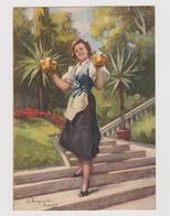 """""""Birreria PEDAVENA"""", Pubblicitaria, Illustrata Da Giovanni Zangrando - F.G. - Anni '1940 - Pubblicitari"""