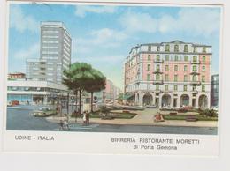 Birreria Moretti, Udine, Pubblicitaria, Illustrata - F.G. - Anni '1960 - Pubblicitari