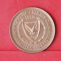 CYPRUS 5 MILS 1979 -    KM# 39 - (Nº30283) - Cyprus