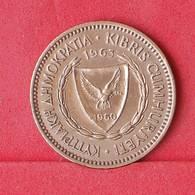 CYPRUS 5 MILS 1963 -    KM# 39 - (Nº30284) - Cyprus