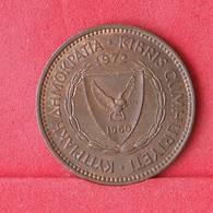 CYPRUS 5 MILS 1972 -    KM# 39 - (Nº30285) - Cyprus