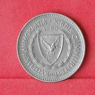 CYPRUS 50 MILS 1980 -    KM# 41 - (Nº30286) - Cyprus