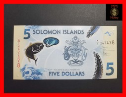 SOLOMON 5 $ 2019  POLYMER P. NEW UNC - Isla Salomon
