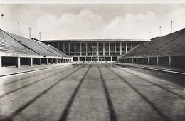 Berlin Reichssportfeld Schwimstadion Mit Blick Auf Die Deutsche Kampfbahn 1936 Ungelaufen - Andere