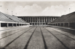 Berlin Reichssportfeld Schwimstadion Mit Blick Auf Die Deutsche Kampfbahn 1936 Ungelaufen - Duitsland