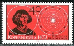 BRD - Mi 758 - ** Postfrisch (A) - 40Pf                Nikolaus Kopernikus - [7] Repubblica Federale