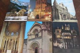 Petit Lot De 15 CPM CPSM écrites Ou Non Sur Les églises, Intérieur Ou Extérieur... - Postcards