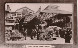 1908 RP Davidson Card Covent Garden Market - Altri