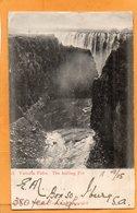 Victoria Falls Zimbabwe 1905 Postcard Mailed - Simbabwe