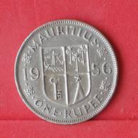 MAURITIUS 1 RUPEE 1956 -    KM# 35,1 - (Nº30301) - Mauritius