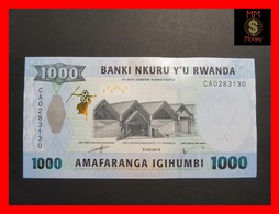 RWANDA 1.000 1000 FRANCS 1.2.2019 P. NEW UNC - Rwanda