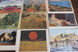 Petit Lot De 20 CPM écrites Ou Non Sur Les Peintures, Tableaux, Tapisserie - Postcards
