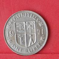 MAURITIUS 1 RUPEE 1971 -    KM# 35,1 - (Nº30302) - Mauritius