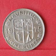 MAURITIUS 1 RUPEE 1975 -    KM# 35,1 - (Nº30303) - Mauritius
