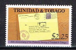 """Trinidad & Tobago 1990  """" 50 Years Philatelic Society  """" , Mi. 644 Postfrisch / MNH / Neuf - Trinidad Y Tobago (1962-...)"""