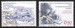 UNO Wien MiNr. 60/61 O Briefmarken Sammeln - Ein Internationales Hobby - Sonstige - Europa