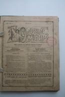 """1910, Lot De 16 Revues """"L'ouvrier Mineur"""", Administration A. Urbain à Cuesmes, Direction D. Maroille à Frameries - Livres, BD, Revues"""