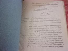 1843 L'Abbaye St Arnould De Metz Ecole Application Artillerie Et Genie INSTRUCTION SUR AMELIORATION D USINE BOILEAU CPT - Livres, Revues & Catalogues