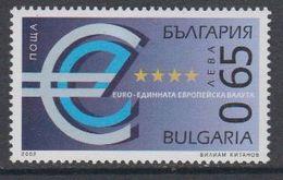 Bulgaria 2002 Euro 1v ** Mnh (44192) - Europese Gedachte
