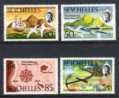 SEYCHELLES - 1970 FIRST SETTLEMENT ANNIVERSARY SET (4V) FINE MNH ** SG 280-283 - Seychelles (...-1976)