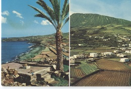 1969 Pantelleria Pantillirìa , :قوصرة Qawsra - 2 Photo's On Card - Khartibucale - Kamma - Ed. Rizzo - - Italie