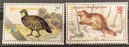 Bosnia And Hercegovina, 2005, Mi: 387/88 (MNH) - Gallináceos & Faisanes