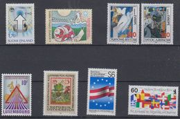Europa Sympathy Issues 1986 8v ** Mnh (44194) - Europese Gedachte