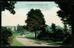 Ref 1319 - Early USA Postcard - In Prospect Park - Niagara Falls New York - NY - New York