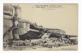 CPA 35 - Saint Malo - La Plage De Bon Secours 3000 - Saint Malo