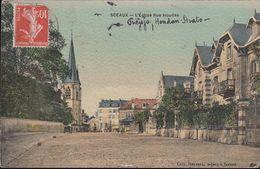 France - Sceaux - L' Eglise Rue Houdan - Sevres