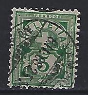 Switzerland 1906 Arms  Mi.84 - 1882-1906 Coat Of Arms, Standing Helvetia & UPU