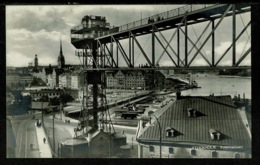 Ref 1319 - Early Real Photo Postcard - Katarinahissen Stockholm Sweden - Sweden