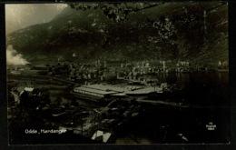 Ref 1319 - Early Real Photo Postcard - Odda Hardanger Norway - Norway